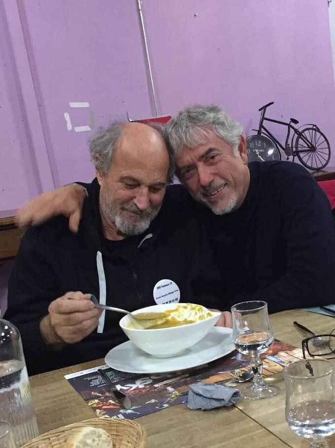 Richard Martin et François Béranger © DR