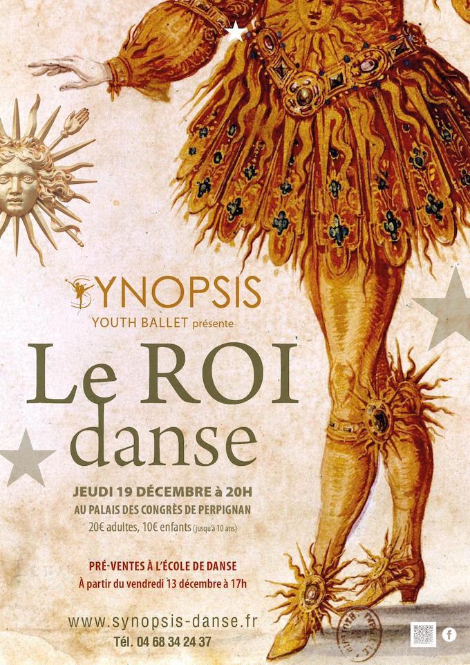 Le Synopsis Youth Ballet danse le Roi Soleil le jeudi 19 décembre au Palais des Congrès de Perpignan