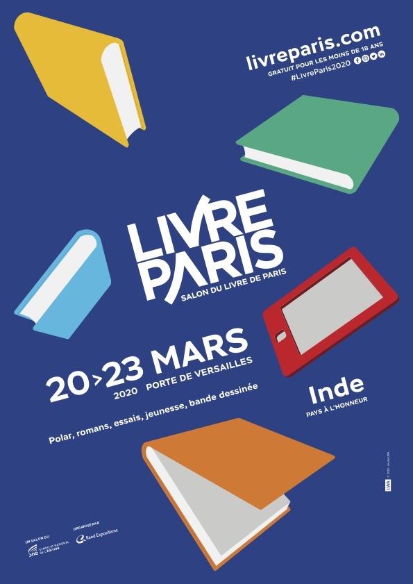 Lire, réfléchir, s'interroger, voyager. Livre Paris vous donne rendez-vous en 2020