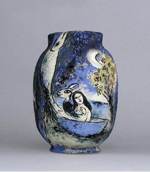 Sur la terre des dieux, Marc Chagall et le monde grec, exposition jusqu'au 1er juin 2020 au Musée national Marc Chagall, Nice