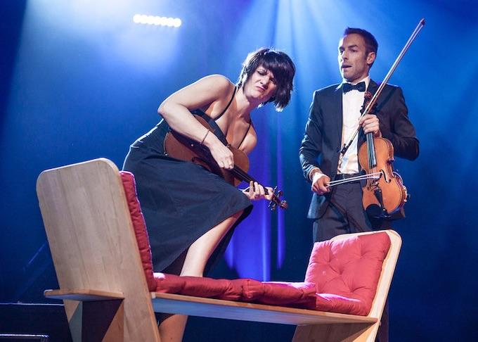 Musical, drôle et surprenant, 1Air2Violons est de retour à Lyon le 4 février