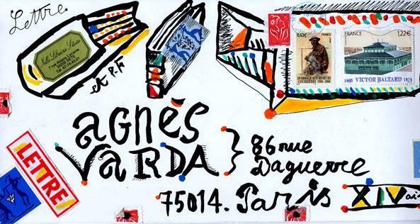 Agnès Varda. Correspondances, exposition du 15 février au 7 juin 2020 au Palais idéal du Facteur Cheval à Hauterives (Drôme)