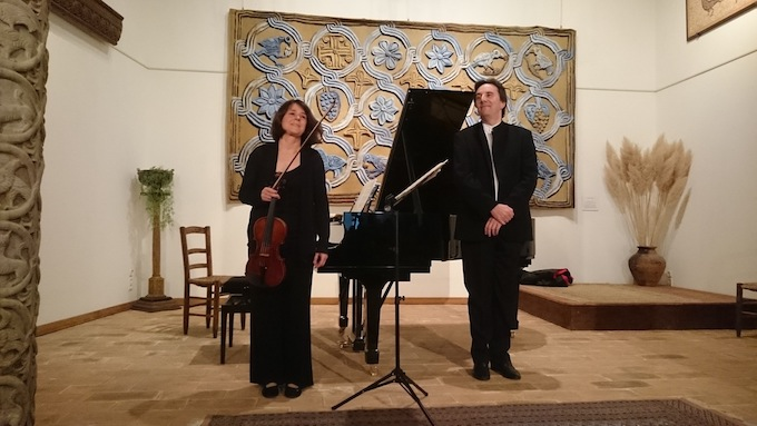 Saskia Lethiec, violon, François Daudet, piano © DR