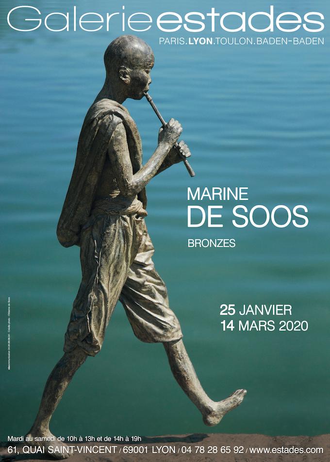 Marine De Soos, Sculpture, Galerie Michel Estades, Lyon, du 25 janvier au 14 mars 2020