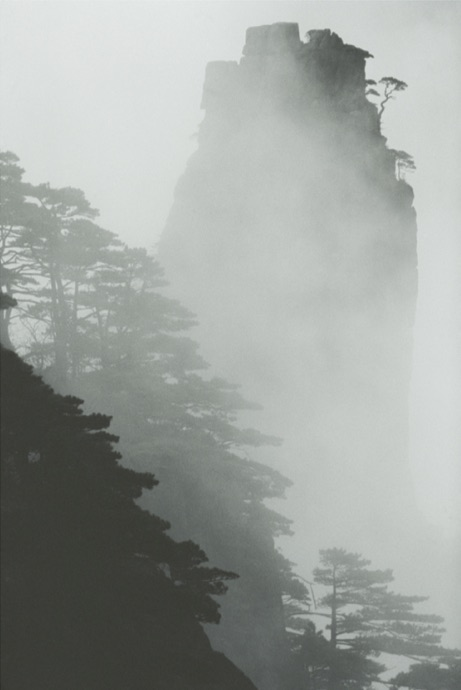 Huang Shan, Chine, 1983 © Marc Riboud, courtesy Polka Galerie