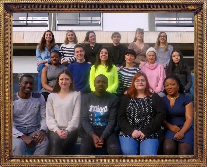 Les étudiants de la promotion 2019/2020 du Master 2 Evénementiel, Médiation et Ingénierie de la Culture d'Université Côte d'Azur, programmateurs de Mars aux Musées 2020
