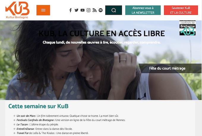 KuB en soutien aux Festivals bretons qui s'annulent avec Festivals de Bretagne virtuels