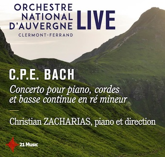 Bach à l'honneur de la nouvelle parution du Label Digital Orchestre national LIVE