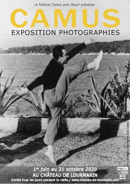 Camus, exposition photographique du 1er juin au 31 octobre 2020 au château de Lourmarin (84)