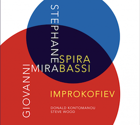 Improkofiev, nouvel album de Stéphane Spira, saxo, et de Giovanni Mirabassi, piano