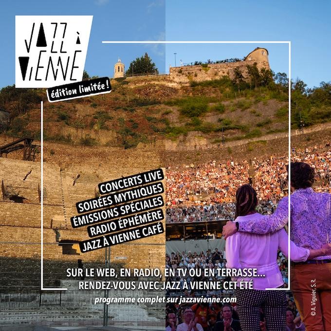 Jazz à Vienne – édition limitée ! du 20 juin au 19 juillet 2020