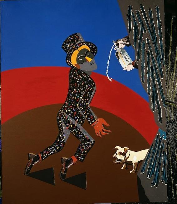 Arroyo, Madrid-Paris-Madrid, 1986 Huile sur toile, 250 x 200 cm