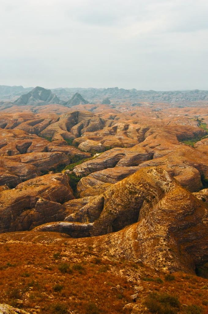 Le Makay, véritable labyrinthe naturel. Photographie Evrard Wendenbaum - Naturevolution