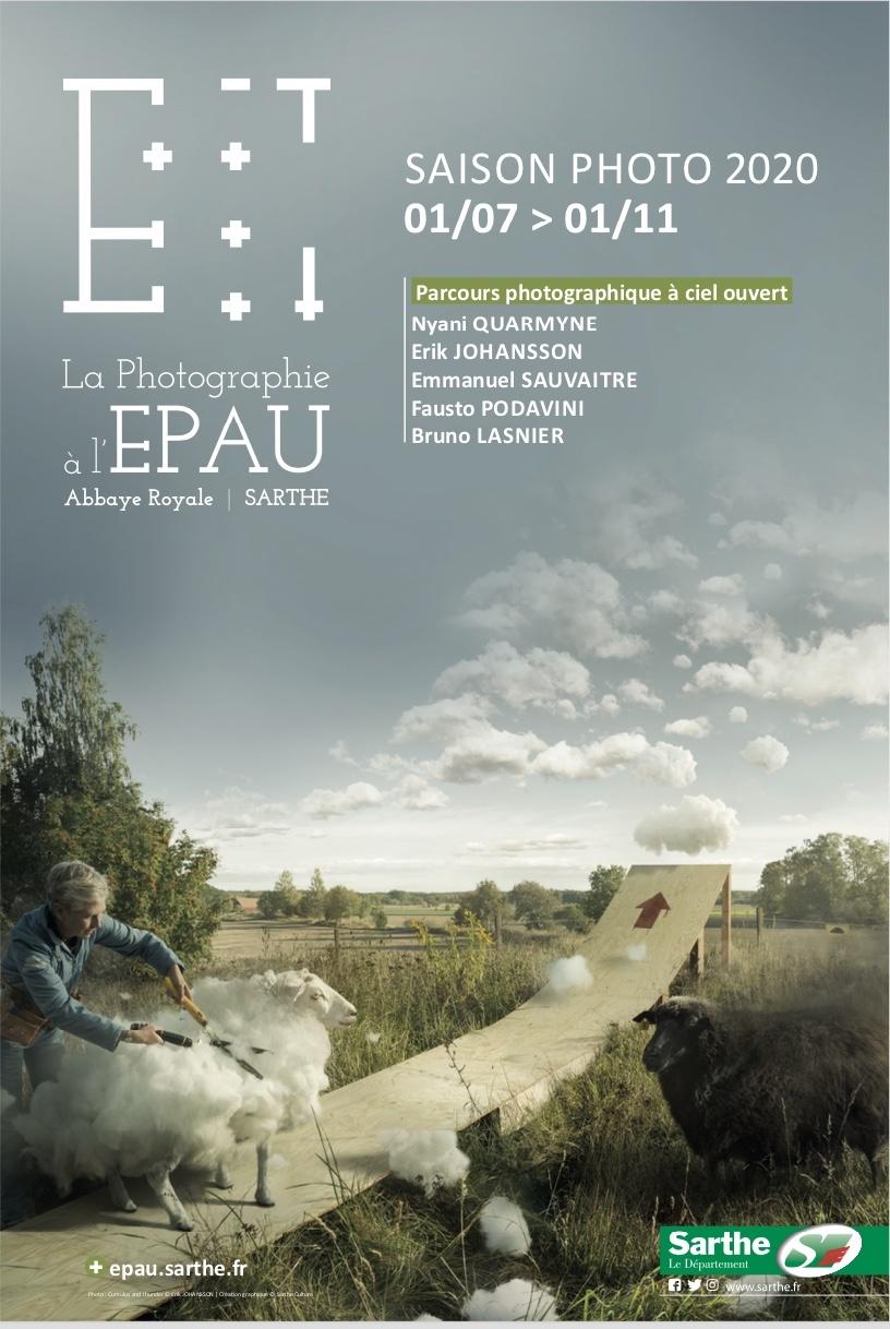 Saison photographique de l'Abbaye royale de l'Epau. 1er juillet au 1er novembre 2020
