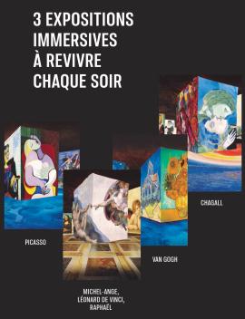 Carrières de lumières - Baux-de-Provence, Les intégrales, 14 soirées : août - septembre - octobre 2020