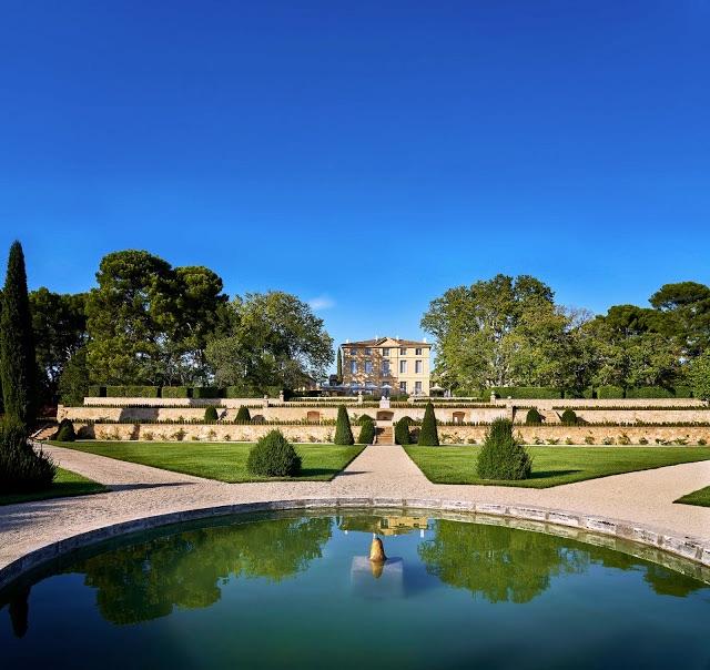 Un des lieux majestueux du festival : le Château de la Gaude à Aix