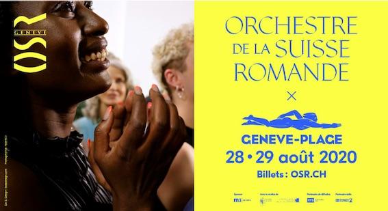 Le Festival OSR à Genève Plage du 28 au 29 août 2020