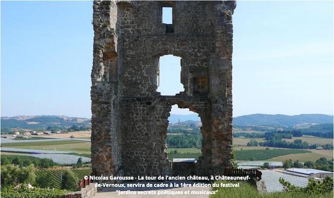 """Ardèche. Festival """"Jardins secrets poétiques et musicaux"""" (1ère édition) du 14 au 15/08/2020 à Châteauneuf-de-Vernoux"""