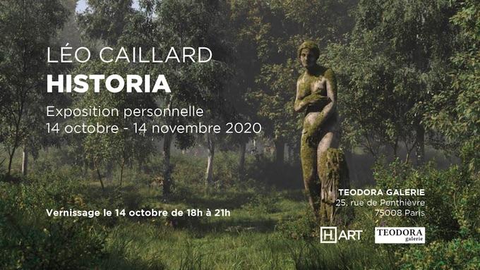 Historia - Léo Caillard, exposition, Teodora Galerie, Paris, du 14/10 au 14/11/20