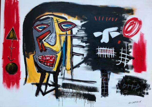 Marseille. Claude Serrile un peintre qui a la cote, expo « J'accuse » du 1er au 4 octobre 2020.