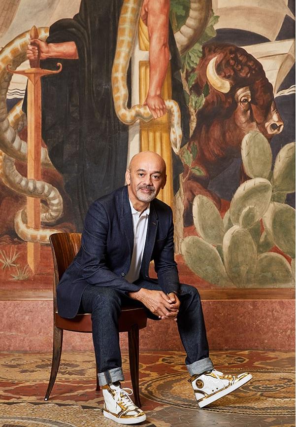 Christian Louboutin au Palais de la Porte Dorée © José Castellar
