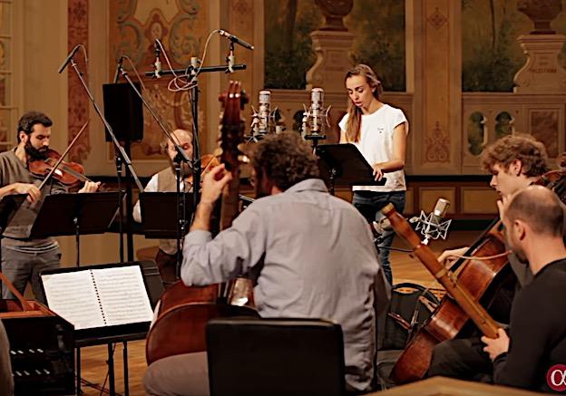 Lea Desandre & Ensemble Jupiter le 18 septembre en l'Abbaye © DR