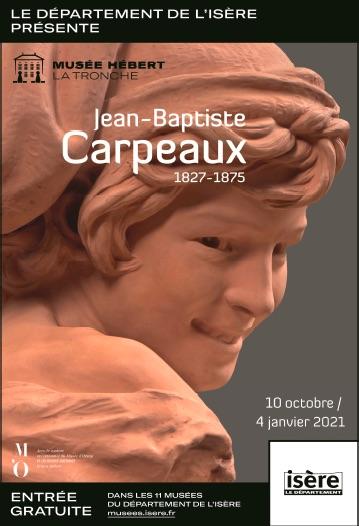 La Tronche, musée Hébert : Jean-Baptiste Carpeaux (1827-1875), exposition du 10 octobre 2020 au 4 janvier 2021