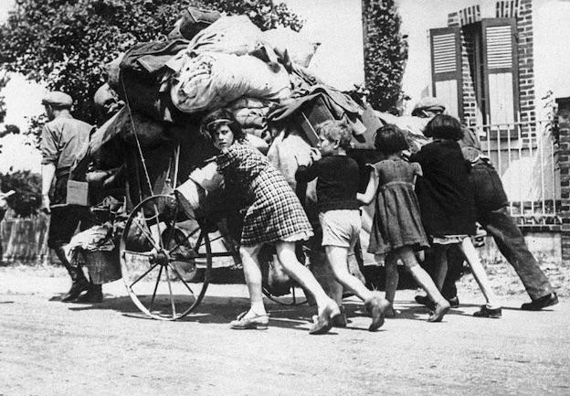 Fuite, mai-juin 1940 © LAPI, Roget Viollet