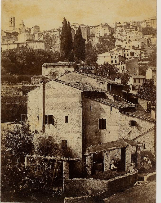 Grasse, les moulins de Macary Charles Nègre 1855, Grasse Photographie sur papier albuminé Musée d'Art et d'Histoire de Provence, inv. 2010.0.248