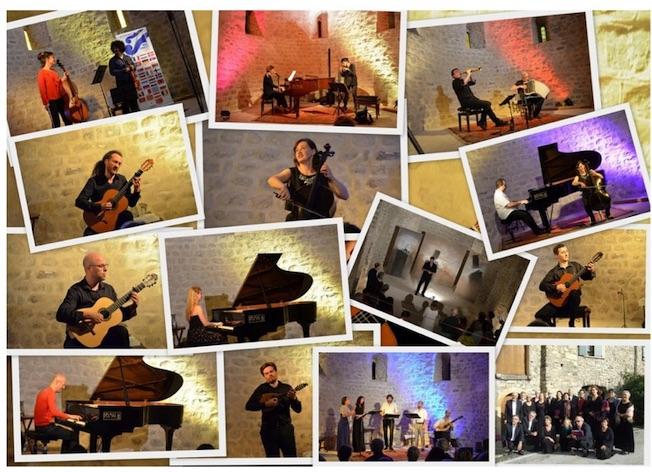 Carles Cases Strings Band a la Capella del Mas Riquer a Catllar (França)