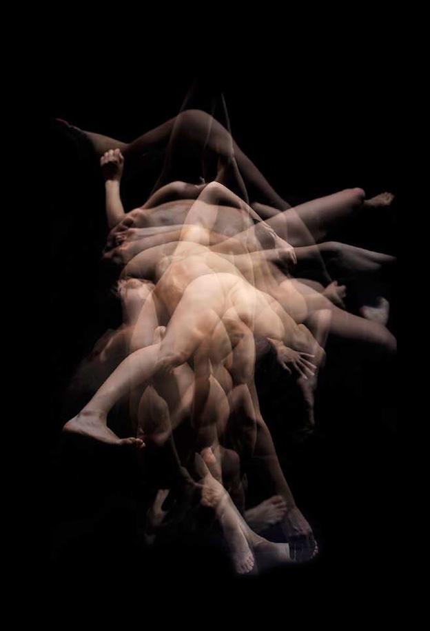 Malika Djardi / Jackson Pollock © Laurent Paillier