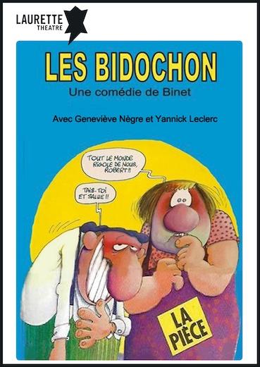 Avignon, Laurette Théâtre : « Les Bidochon » de Binet et « Même les cons ont droit au bonheur » de Alfred