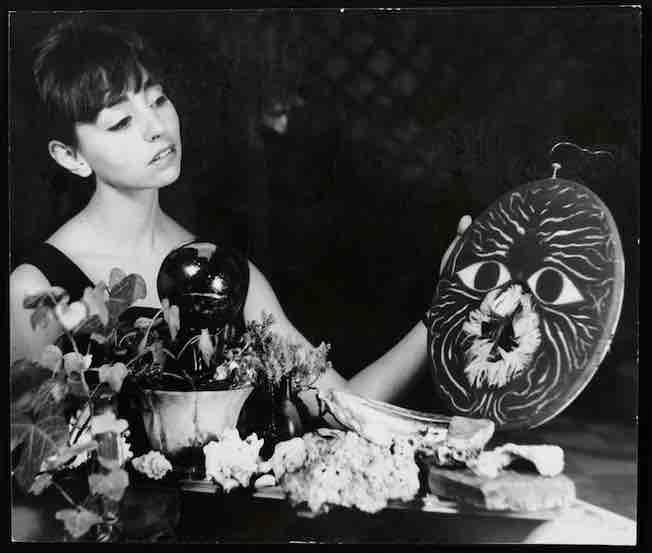 Mujer y mascara, series Mujer y mascara, Mexico