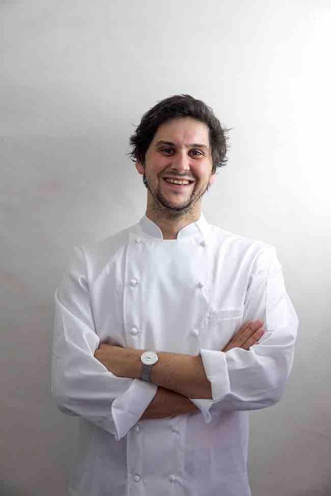 Camille Lacome, chef de cuisine © DR