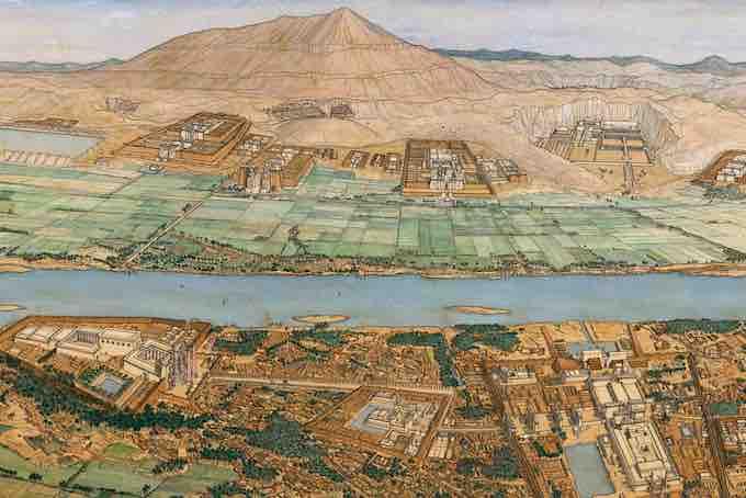 Jean-Claude Golvin, spécialiste mondial de la restitution par l'aquarelle des grands sites de l'Antiquité