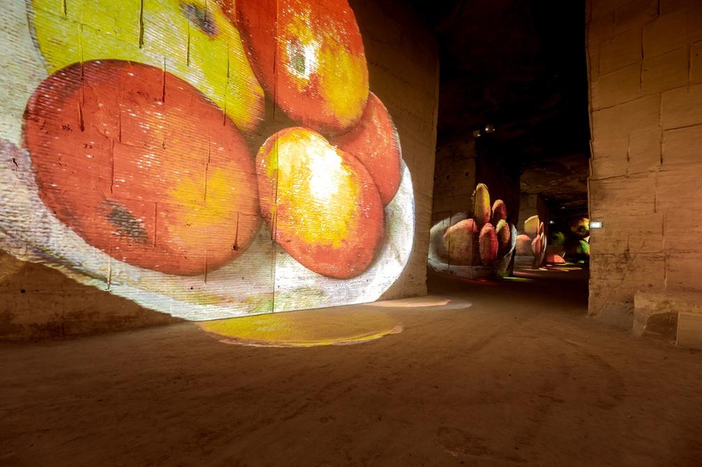 Carrières de Lumière © Culturespaces / Eric Spiller
