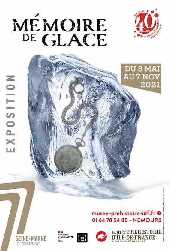 Nemours. Mémoire de glace du 8 mai au 7 novembre au musée de Préhistoire d'Ile-de-France