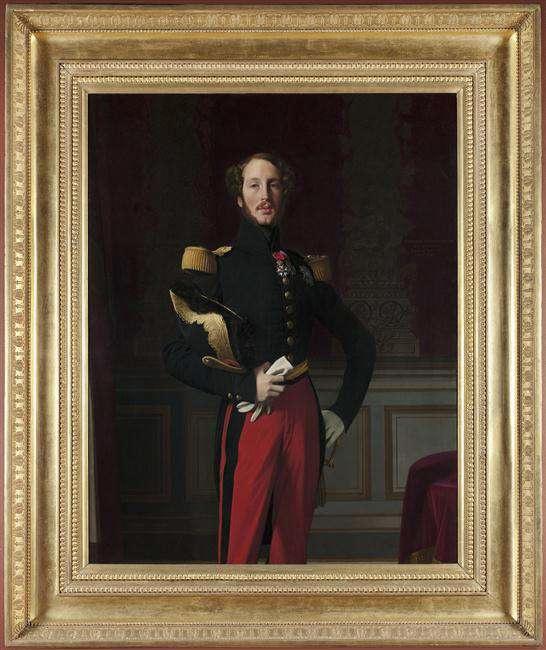 Ingres, Portrait de Ferdinand-Philippe d'Orléans, (1810-1842), 1842, huile sur toile, Musée du Louvre, Jean-Gilles Berizzi