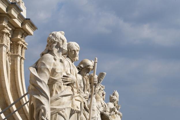 Les statues monumentales restaurées © château de Versailles / Thomas Garnier