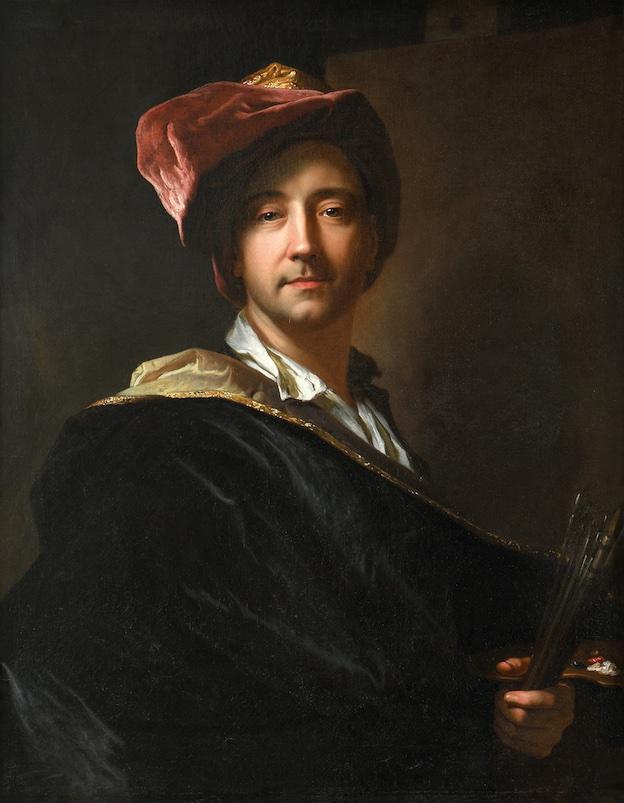 Autoportrait dit au turban. Hyacinthe Rigaud 1698. Huile sur toile © Musée d'art Hyacinthe Rigaud / Pascale Marchesan