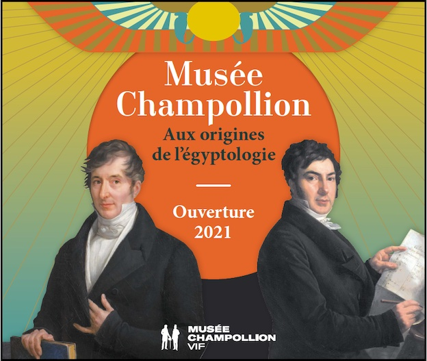 Vif (38), ouverture du Musée Champollion, aux origines de l'égyptologie