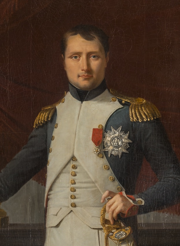 Napoléon Ier, empereur des Français, Lefèvre, 1806, Attique du Midi © château de Versailles, Dist. RMN, C. Fouin