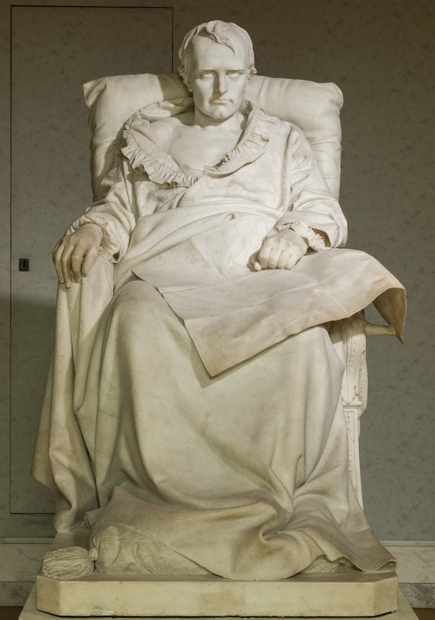 Les Derniers jours de Napoléon Vincenzo Vela (1820-1891), 1866, château de Versailles © château de Versailles, Dist. RMN-Grand Palais / C. Fouin