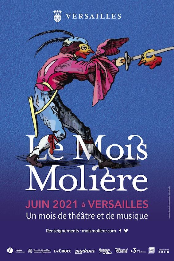 Versailles, Grande Écurie : Le Mois Molière, pépinière de talents du 1er au 30 juin 2021, 25e édition