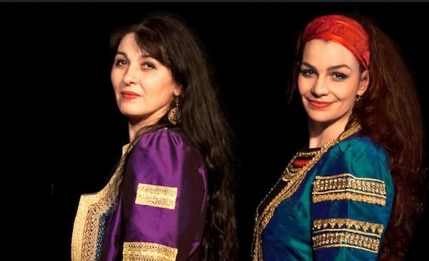 Milena Jeliazkova et Milena Roudeva du quatuor Balkanes