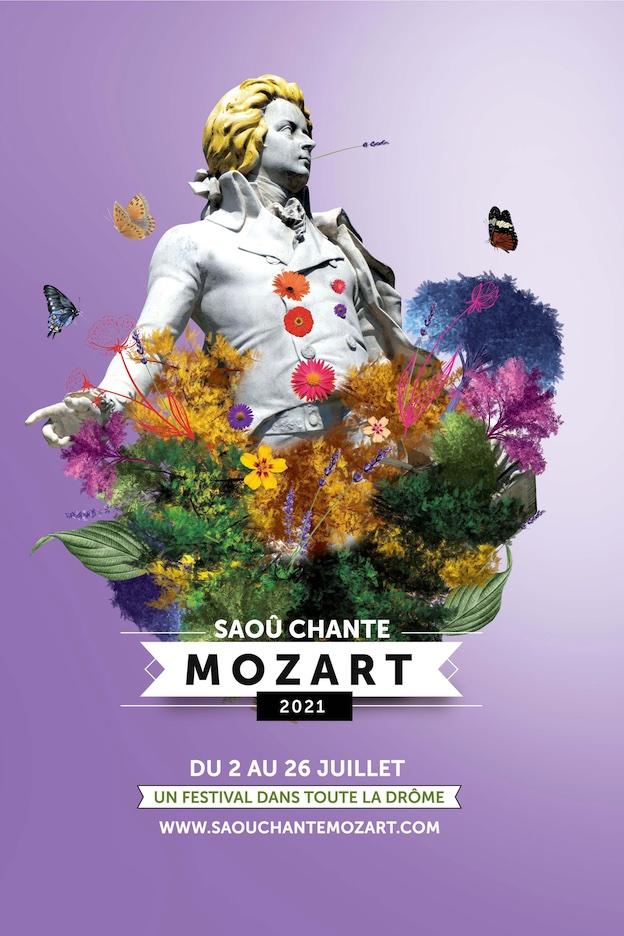 Festival Saoû chante Mozart, édition 2021, demandez le programme !