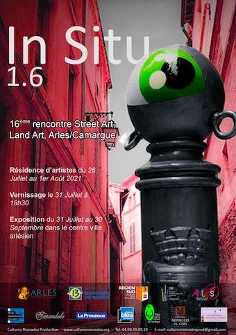 In Situ 1.6: 16e rencontre Street Arts et Land Art. Arles/ Camargue.