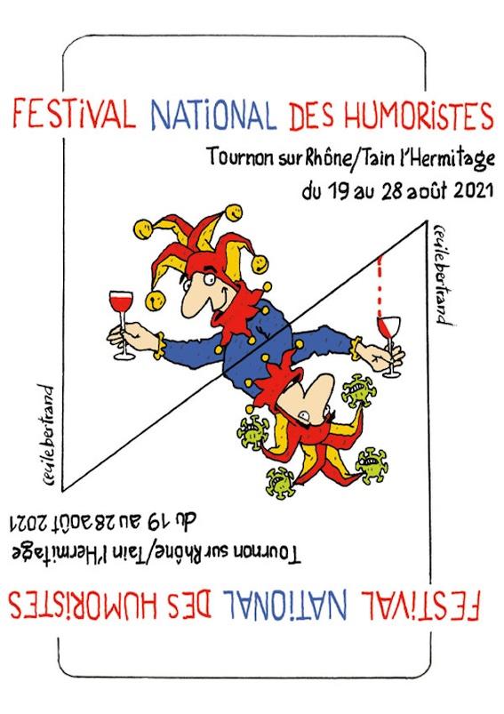 32e Festival National des Humoristes du 19 au 28 août 2021