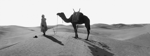 La prière au désert dans le Sahara algérien, Vers 1900 1693-9 © Léon & Lévy / Roger-Viollet