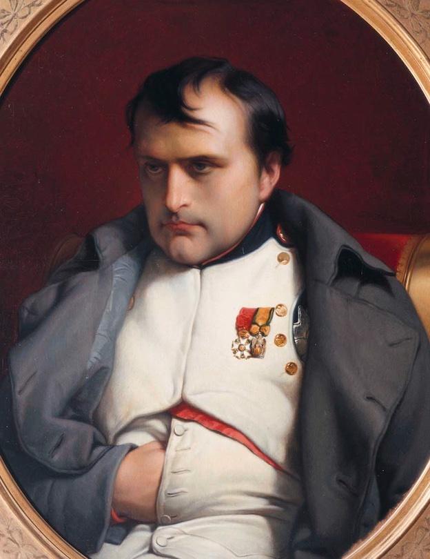 Napoléon. Paul Delaroche (1797-1856). Huile sur toile, 117 x 97 cm. Collection Palais Vivienne